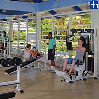 Paradisus Varadero Gym Room