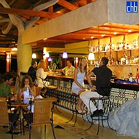 Bar At The Hotel Playa Pesquero