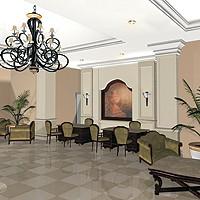 Lobby at Villas