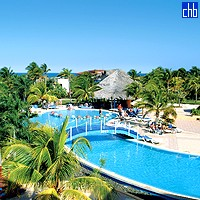 Pool At The Sol Cayo coco Hotel