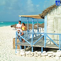 Bar On The Beach At The Sol Cayo Largo Hotel