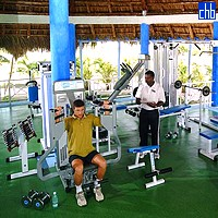 Gym Room At The Cayo Largo Hotel