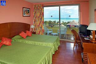Hotel Tuxpan standardowy pokój typu twin