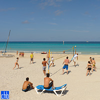 Varadero Beach Volley Ball at Hotel Tuxpan