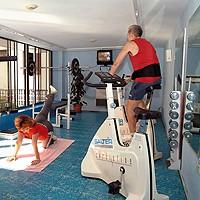 Salle de Gym de l'Hôtel Vedado