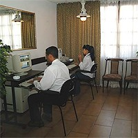 Internet Access Room at Hotel Victoria