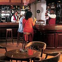 Bar du Hall de l'Hôtel Victoria