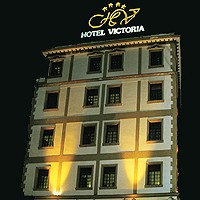 Night View of Victoria Hotel
