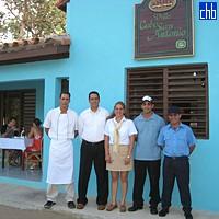 Gaviota Villa Cabo San Antonio pracownicy