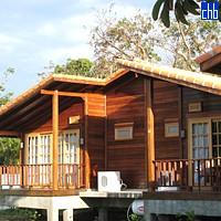 Деревяные домики в Кабо Сан Антонио