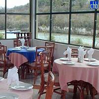 Pogled iz restorana Guajimico