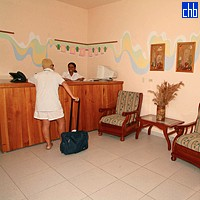 Reception At Gran Caribe Villa Lindamar Hotel