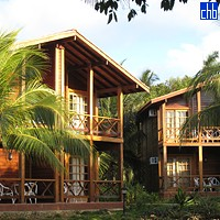 Деревянные домики Магуана