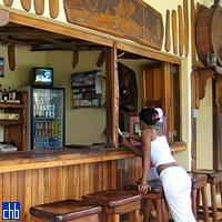 """""""Bar Burro"""" de la Piscine de l'Hôtel Villa Mirador de Mayabe"""