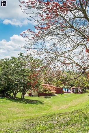 Giardini alla Villa Hatuey di Sancti Spiritus