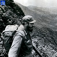 Fidel Castro en La Sierra Maestra 1962