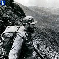 Fidel Castro en La Sierra Maestra 1962