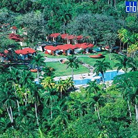 Aerial View Of The Villa Soroa