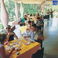 Restoran u vili Soroa