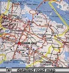 Ciego de Avila Map