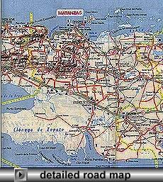 Matanzas Map
