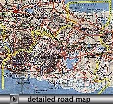 Sancti Spiritus Map